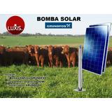 Bomba Solar Grundfos. Extracción De Agua Con Energía Solar