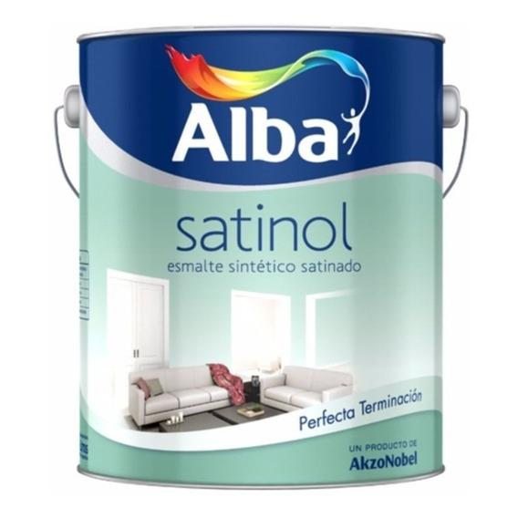 Esmalte Sintetico Satinado Satinol Alba X 4lt Pintumm