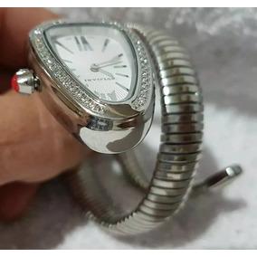 d40873eb4e2 Bvlgari Relogios Feminino S38 L2161 De Luxo - Relógios De Pulso no ...