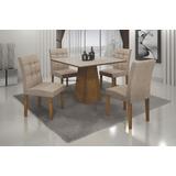 Sala Jantar Itália 4 Lug, Vidro Serigrafado 0,90x0,90-leifer