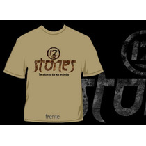 Camisa 12 Stones The Only Easy Day Was Yesterday Rock Gospel