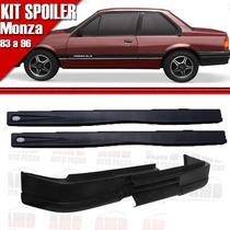 Kit Spoiler Monza 83/96 2 Portas Diant Sem Furo + Late 047