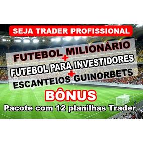 Pacote 3 Melhores Cursos De Trade Esportivo E Mais Planilhas