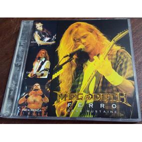 Megadeth - Ferro 1995 Cd Metallica Slayer Kiss