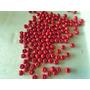 3500 Cuentas De Madera En Rojo 8 Mm Insumo