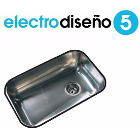 Pileta De Cocina Simple Johnson Z52/18cm 52x32x18 - Palermo