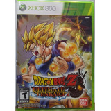 Dragon Ball Z: Ultimate Tenkaichi Xbox 360