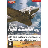 Flight Simulator 2004 Español + Aeropuertos Y Mas 4cd+1 Dvd