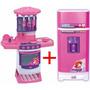 Cozinha Infantil Fogaozinho 8000l + Super Geladeira Mágica