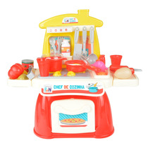 Kit Mini Cozinha Infantil Creative Fun Chef Multikids