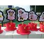 20 Lembrancinhas Mickey Minnie Serve Enfeite Ou Centro Mesa
