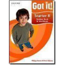 Got It! Starter B Student Book & Workbook With Cd-rom