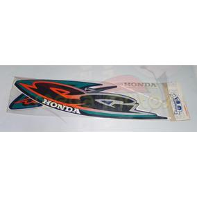 Jogo Kit Adesivos Completo Cg Titan 125 2000ks Azul- Lb00614