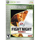Fight Night Round 3 Seminuevo Xbox 360 Solo En Igamers