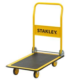 Carro Plataforma De Acero Stanley Pc527 Zorra Hasta 150 Kg.