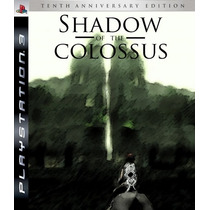 Shadow Of The Colossus Ps3 Psn Hd Bluray