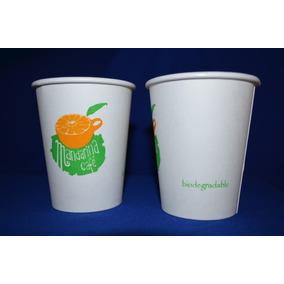 Vasos Desechables Impresos Para Café O Bebida Caliente