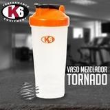 Termo Mezclador Proteinas K6 Ideal Para El Gym