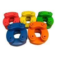 Bloque Gigante Curvo X 25 Unidades - Juguetes Kids