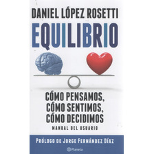 Libro: Equilibrio ( Daniel López Rosetti).