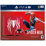 Ps4 Pro 1tb Spiderman Limited Edition.