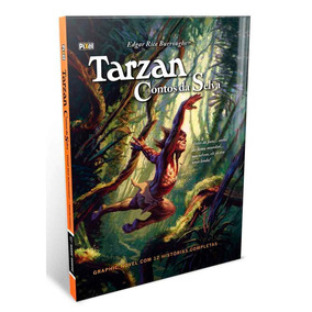 Hq Tarzan Contos Da Selva Graphic Novel 12 Histórias Complet
