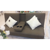 Mueble Sofacama Con Porta Vasos