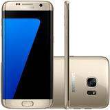Samsung Galaxy S7 Edge Dourado 32gb Tela 5.5