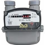 Medidor De Gas Domiciliario 2.5 M3/h Para Dividir Consumos