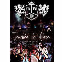 Dvd Rbd Tournée Do Adeus Raro Importado Lacrado Original