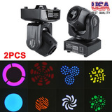 2pcs 60w Led Rgbw Moviendo Cabeza Etapa Luz Dmx Club...