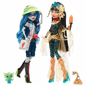 Monster High Cleo Y Ghoulia Sdcc Pack Exclusivo Collector