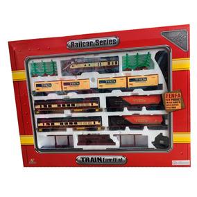 Tren Locomotora Fenfa 148/418 Pila 7 Vagones Es 1:87 Smile