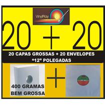 Capa Para Disco De Vinil Lp 12 Polegada Mínimo 20 Capas