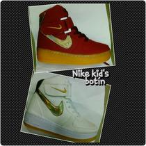 Calzado Botín Zapato Nike Para Niñas A La Moda