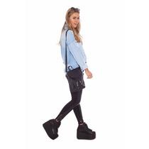 Zapatillas Lali Super Star Con Extra Plataforma