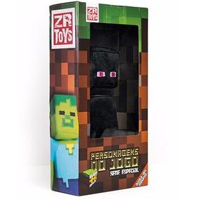 Boneco Zr Toys Minecraft Enderman + Pôster Brinde