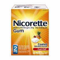 Nicorette Gum Chicle De Fruta Chill 2g Dejar De Fumar