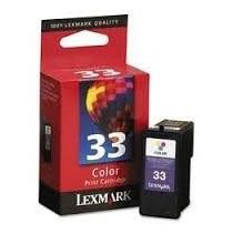 Cartucho Lexmark 33 Color Original