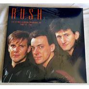 Rush - Live In Milwaukee 1984 Lp Duplo