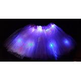 Tutu Luminoso Led - Pollerita Disfraz Hada Luminosos