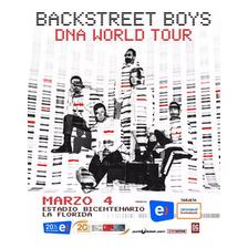 Entrada Backstreet Boys 2020   Cancha General