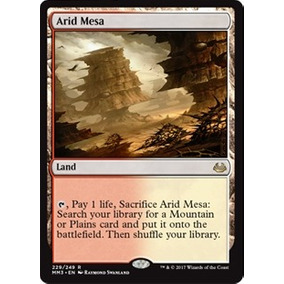 Arid Mesa X 4 - Playset Completo- Magic The Gathering