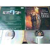 Kevin Costner 2 Laserdisc Robin Hood