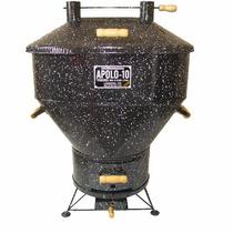 Churrasqueira Esmaltada Apolo 10 + Kit Gás - Weber