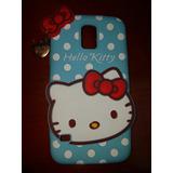 Estuche Hello Kitty Samsung S5 Forro Protector Antichoque