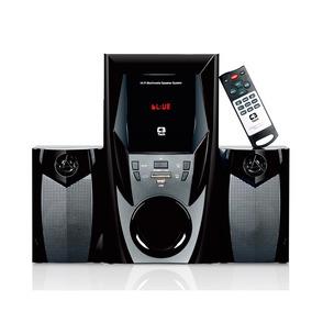 Caixa De Som Speaker 2.1 Bluettoh + Radio Sp-365b Bk C3 Tech