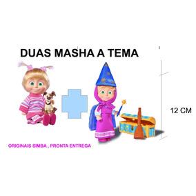 Masha 2 Unidades Simba (pronta Entrega No Brasil)
