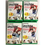 Fujifilm Pack 20 Películas Instax Mini 8 9 Fotos