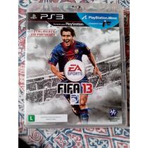 Fifa 13 Futebol Messi Midia Fisica Playstation 3 Ps3